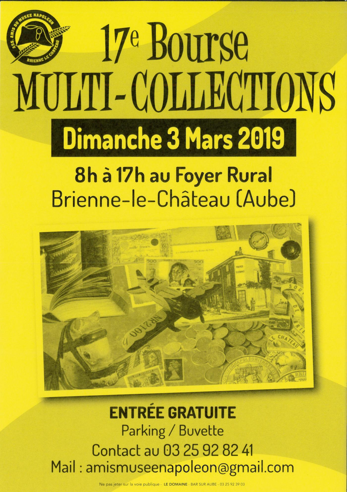 17e bourse multi-collections